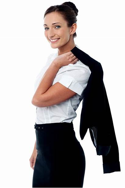 Business Woman Transparent Background Female Businesswoman Without
