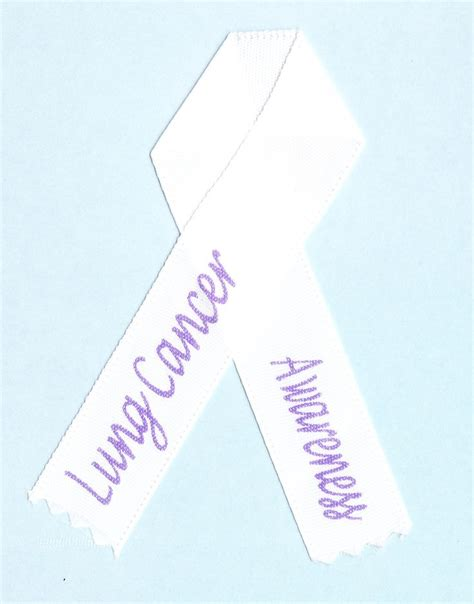 what color ribbon is for lung cancer cancer ribbon colors cancer ribbon colors for lung