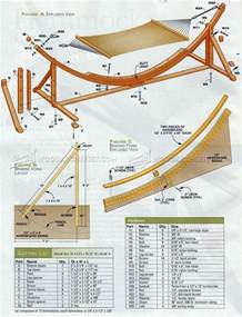 hammock swing stand plans image mag