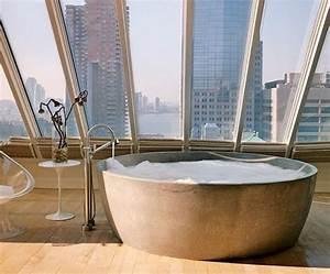 60 idees pour amenager et decorer une salle de bains With salle de bain design avec boite ronde à décorer
