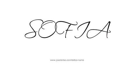 sofia  tattoo designs