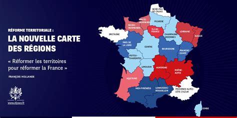 Carte de france vierge à imprimer. Carte des 14 nouvelles régions
