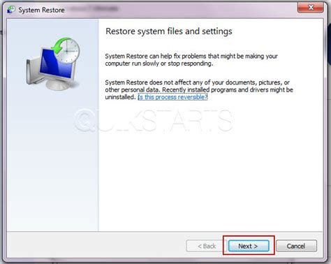 Continue With System Resume Windows 7 by 7