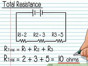 How to Calculate Voltage Across a Resistor (with Pictures)