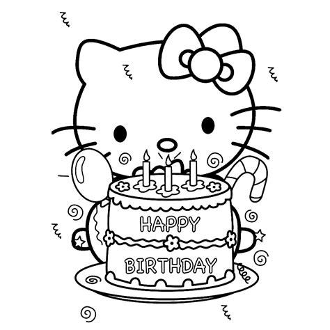 Kleurplaat Verjaardag Tante by Leuk Voor Happy Birthday