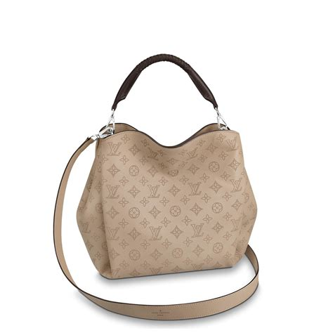 babylone pm mahina leather handbags louis vuitton