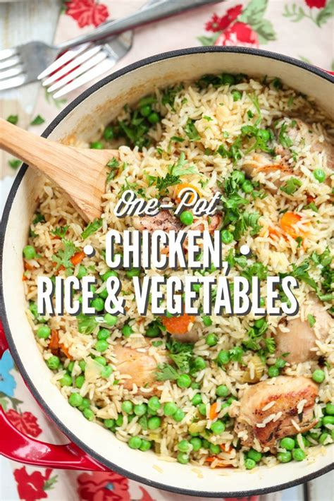 inexpensive kitchen remodel ideas one pot chicken rice and vegetables live simply