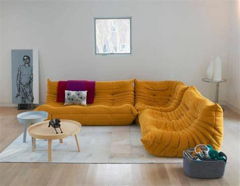 canapé d angle ligne roset les beaux décors avec le canapé togo légendaire ligne