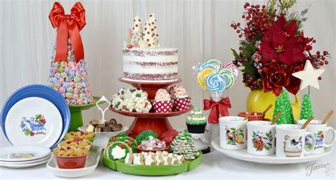 christmas dessert table fiesta blog
