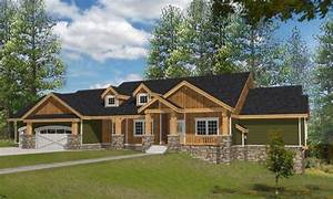 Northwest Style House Plans 4466 Square Foot Home , 1 ...