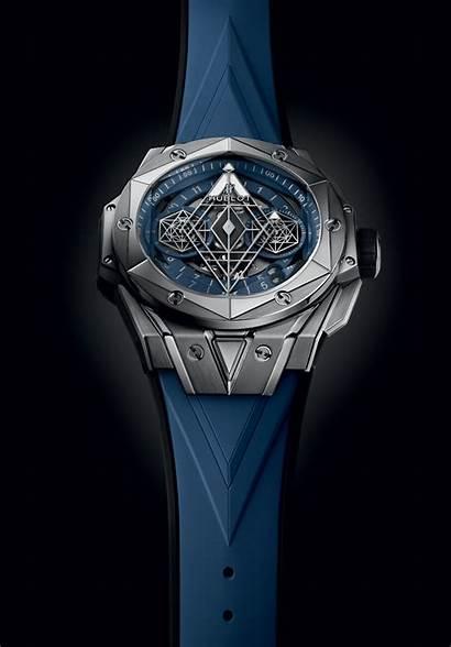 Sang Bleu Ii Bang Hublot Titanium Limited