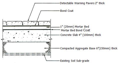 travertine shower tiles truncated domes tile tech pavers detectable warning