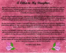 Letter To My Daughter By ZandKfan4ever57 On DeviantArt Letter From Mother To Son On Graduation Day Just B CAUSE Graduation Letter To Daughter Online Journal Students Will Forget What You Said They Will Forget What You Did