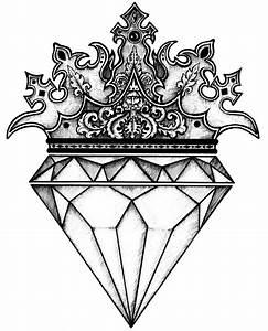 Diamond Crown by LucianaNedelea on DeviantArt