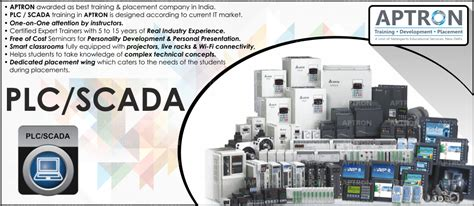 best plc scada 6 months project based industrial in noida