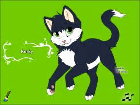 cat maker korky in kitten maker 2 by deborahsimpson86 on deviantart