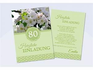 """Einladung 60 Geburtstag """"Herzlich"""" hellblau"""