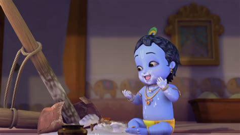 Krishna Steals Butter, Milk And Yogurt