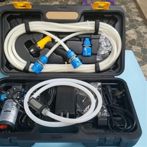 Alat Cuci Motor 12v pompa mesin alat cuci steam mobil motor 80w arus dc ac