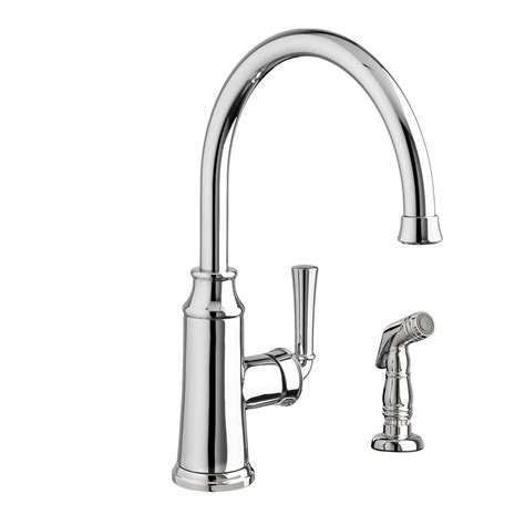 best kitchen faucet with sprayer standard portsmouth high arc single handle
