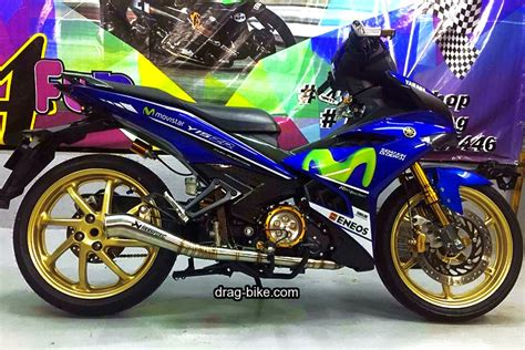 Variasi Jupiter Mx 135 by 40 Foto Gambar Modifikasi Jupiter Mx King Jari Jari Ceper