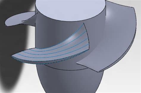 impeller  axial pump autocad catia keycreator step