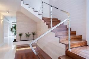 Wandgestaltung Treppenhaus Einfamilienhaus : jakie schody wewn trzne wybra do domu ~ Markanthonyermac.com Haus und Dekorationen