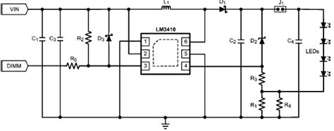 Constant Current Led Driver Using