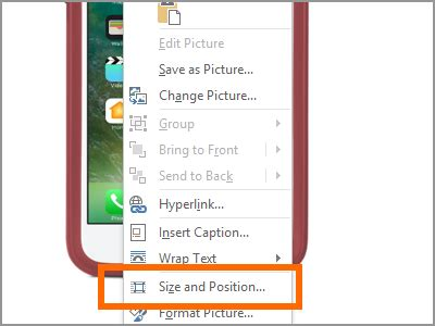 How Resize Images Word