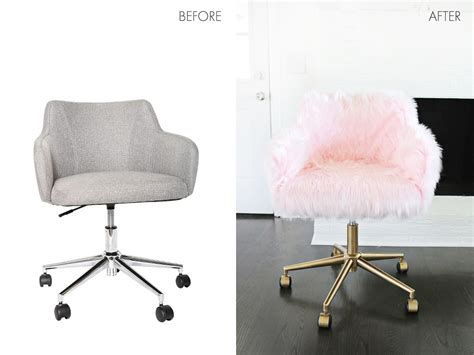 see through makeup desk project restyle office chair makeover a beautiful mess