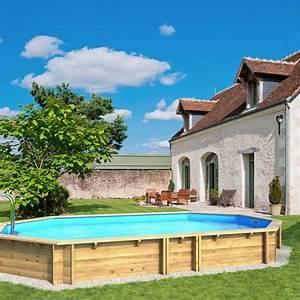 Piscine Hors Sol Chauffée : piscine hors sol bois weva octogonale proswell ~ Mglfilm.com Idées de Décoration