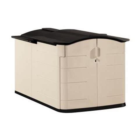 rubbermaid slide lid shed rubbermaid 6 ft 7 in x 5 ft slide lid shed 199 00 home
