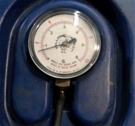 test water column gauges  gas furnaces hvac