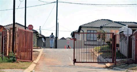 tshwanes lotus garden turns   gated suburb