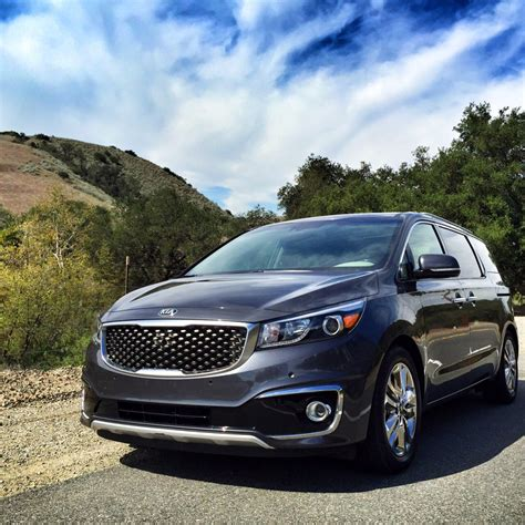 luxury minivan ultimate family luxury minivan the 2015 kia sedona oc