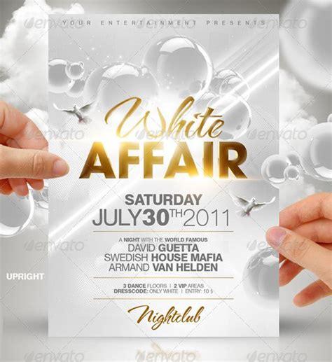 All White Party Invitation Templates - Invitation Design Blog