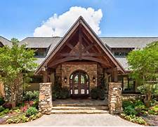 Rustic Architecture Integrates Easily In The Environment DesignRulz Front Entry Courtyard Arizona Pinterest Azalea Ridge Rustic Exterior Other Metro By Wright Design Houzz Small Cabin Design Ideas Remodel Pictures