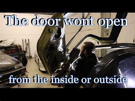 car door wont unlock how to fix a car door mechanism that wont open from