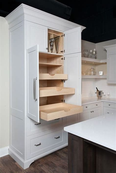 pull out drawers in kitchen cabinets how to the kitchen furniture 9174