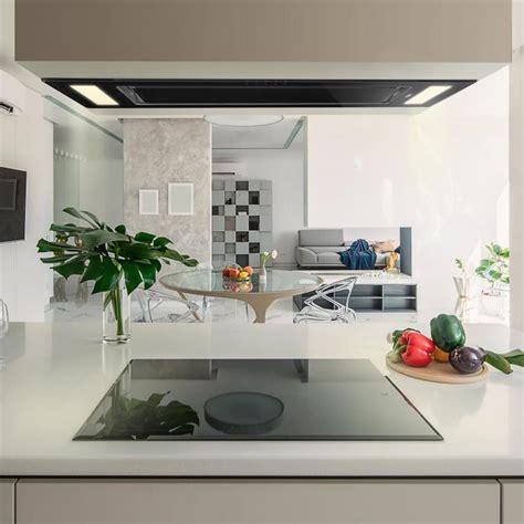 hotte de plafond remy hotte de plafond type 238 lot 90cm classe a 620m 179 h led verre noir no replacement filter