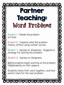 Tackling Word Problems In Partners
