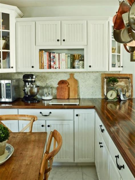 diy wooden kitchen countertops   shelterness