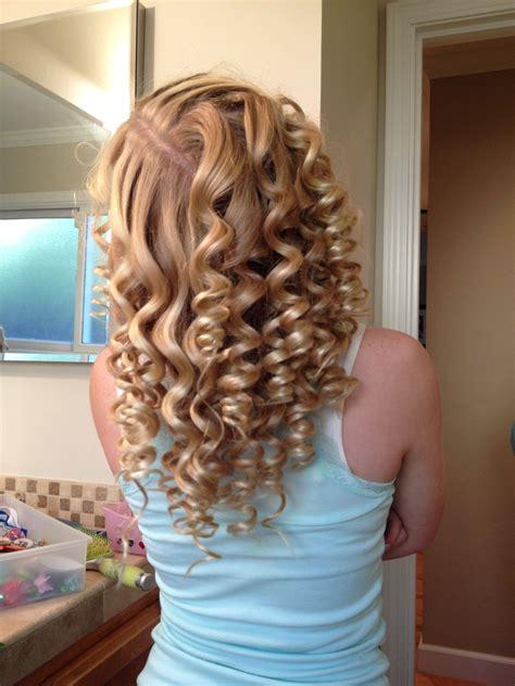 spiral curls hairstyles