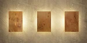 Lampe Indirektes Licht : wandleuchte aus holz modern und einzigartig ~ A.2002-acura-tl-radio.info Haus und Dekorationen