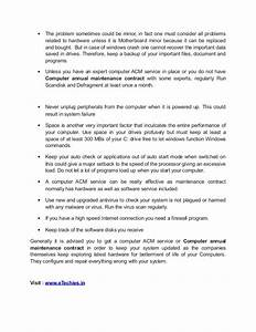 computer service contract printable contracts With computer support contract template