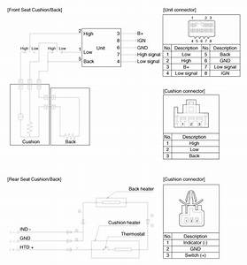 Hyundai Sonata  Seat Heater  Schematic Diagrams - Seat Electrical