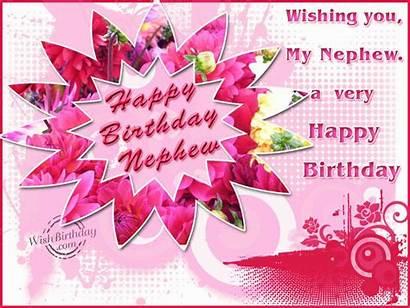 Nephew Birthday Happy Wishing Very Dear Wishes
