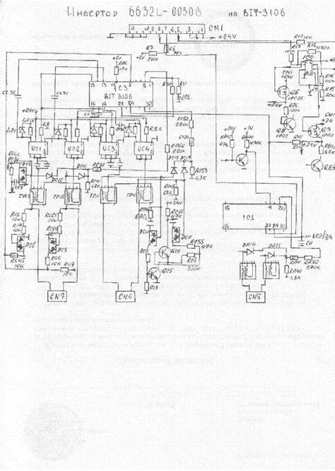 lg l1752s l1952s s wfq em power ccfl inverter service manual schematics