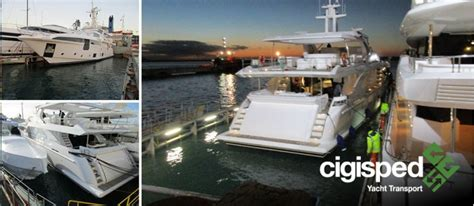 Boat Shipping Costs Nz by News Cigisped Yacht Transport Integrated Logistics Boat
