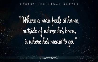 Hemingway Quotes Ernest Cheat Better Happier Profound